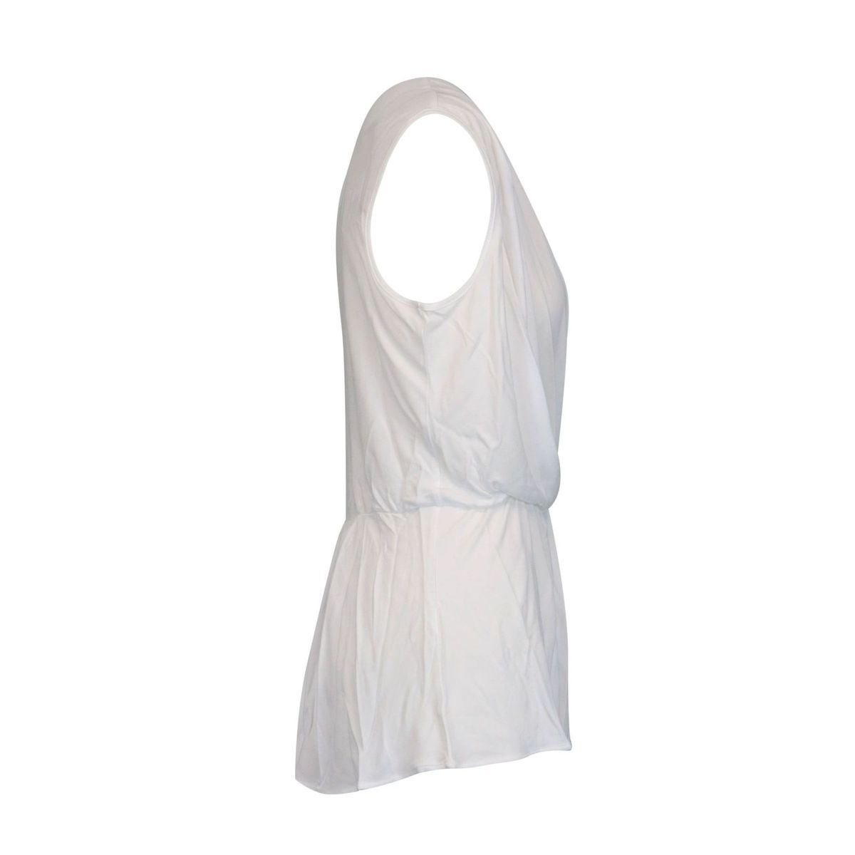 Viscose blouse with deep V-neckline White Twin-Set