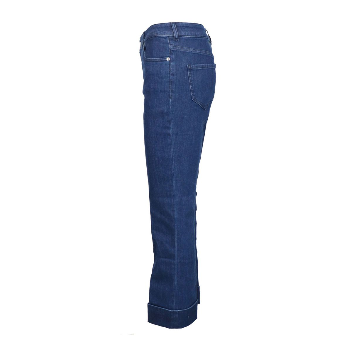 5-pocket straight leg jeans in light denim Dark denim Fay