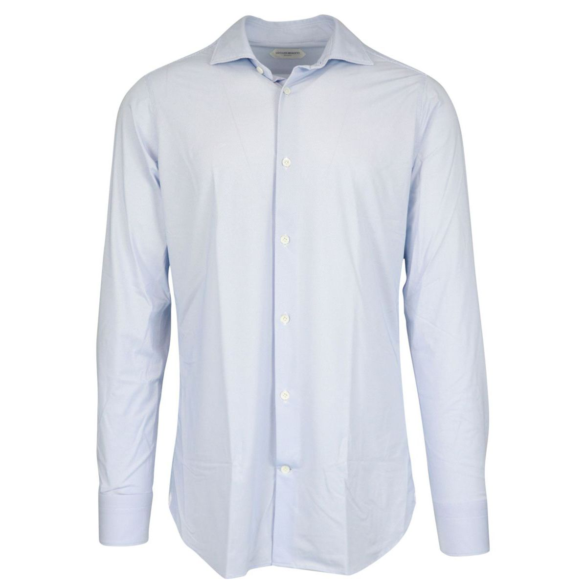 Regular-fit shirt with pleats on the back and French French collar Heavenly Guglielminotti