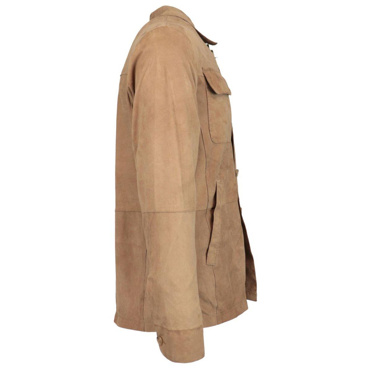 Marcelo suede jacket Havana Andrea D'amico