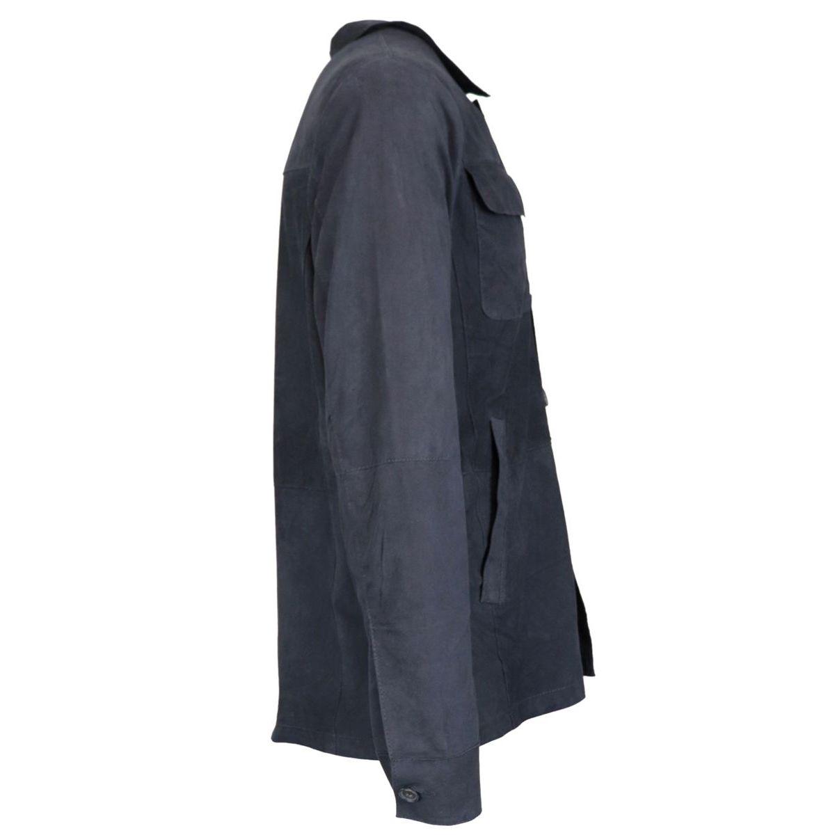 Marcelo suede jacket Ocean Andrea D'amico