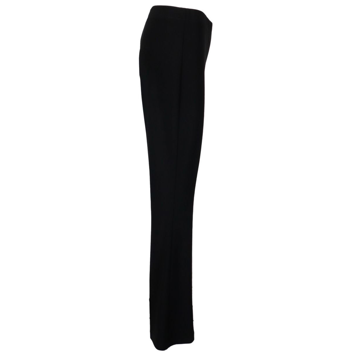 Viscose blend trousers with wide bottom Black Joseph Ribkoff