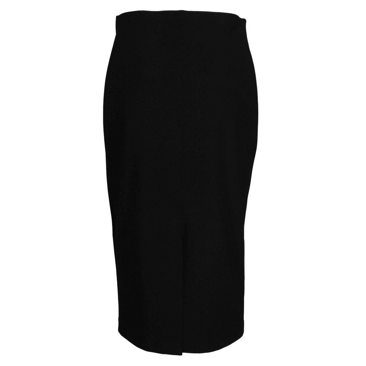 Crepe pencil skirt with slit on the back Black Joseph Ribkoff