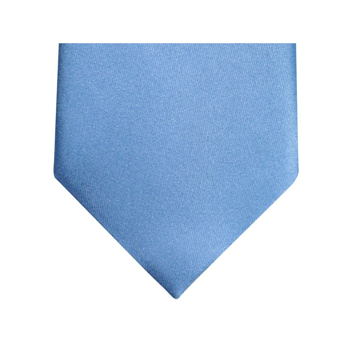 7.5 solid color silk tie Light blue Altea
