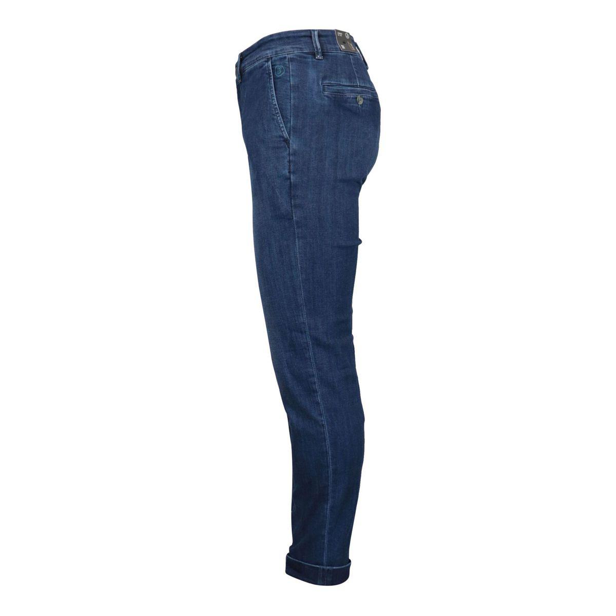 Dark denim chino jeans with america pocket Denim Jeckerson