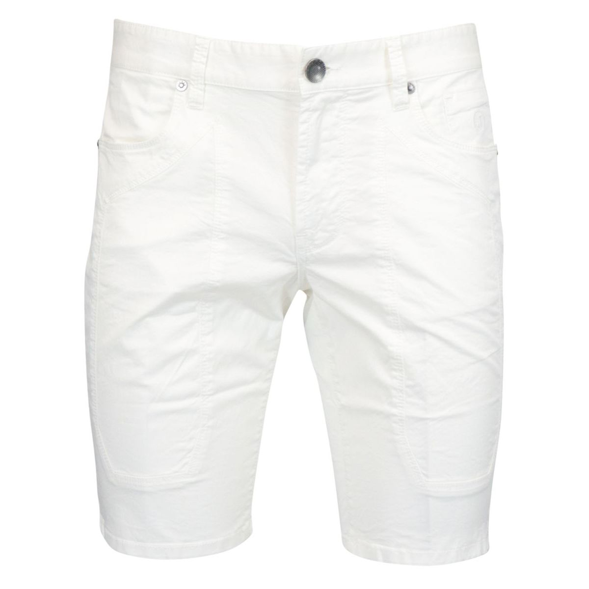 Cotton shorts with 5-pocket patch White Jeckerson