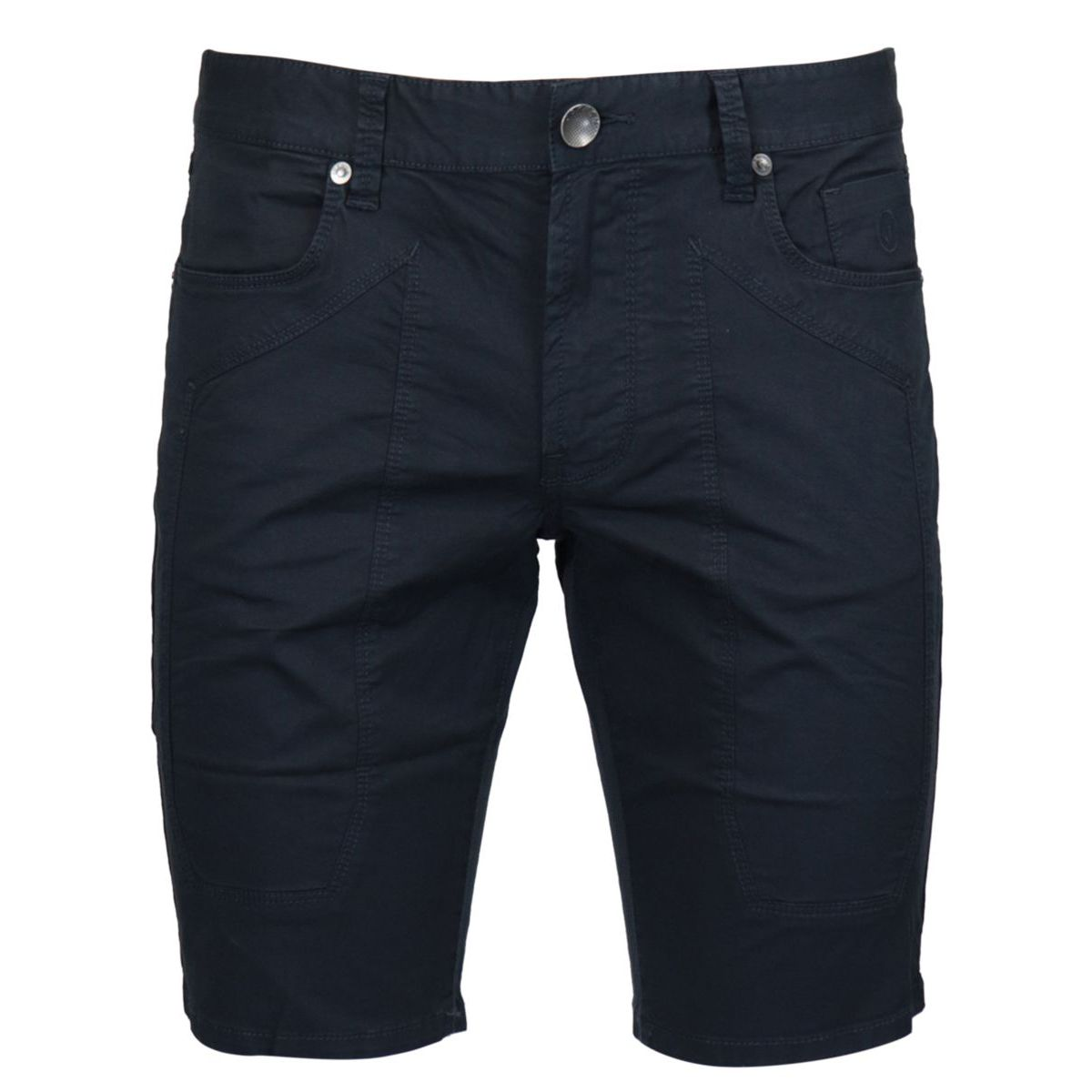 Cotton shorts with 5-pocket patch Navy Jeckerson