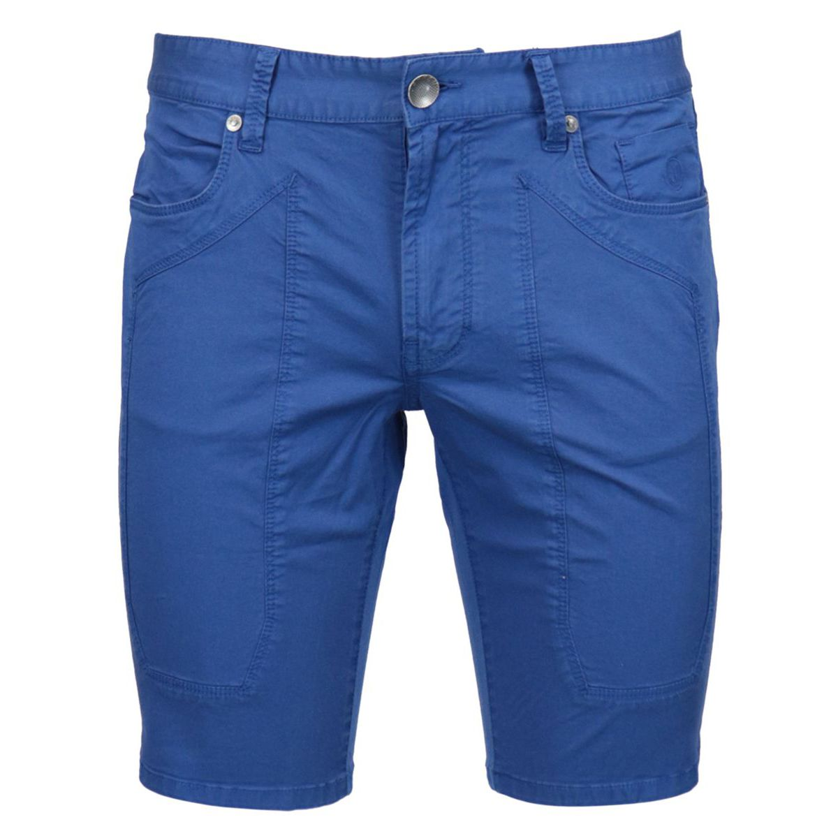 Cotton shorts with 5-pocket patch Royal Jeckerson