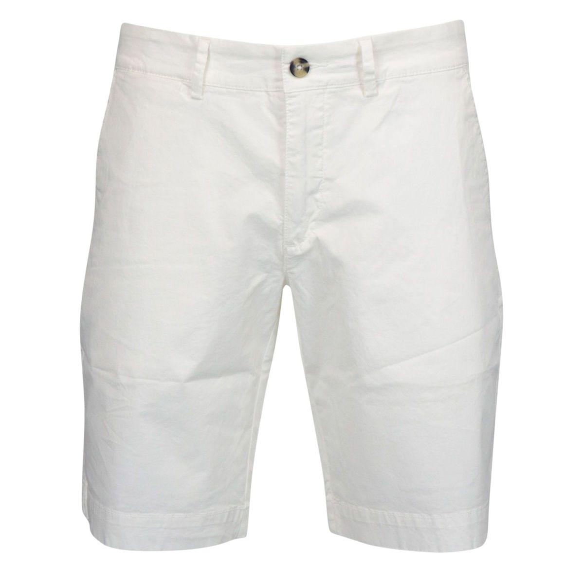 Cotton bermuda with america pocket White Jeckerson