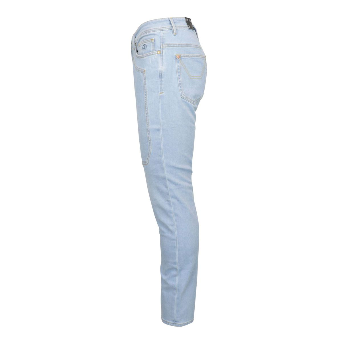5-pocket jeans in light denim with Tapered fit patches Light denim Jeckerson