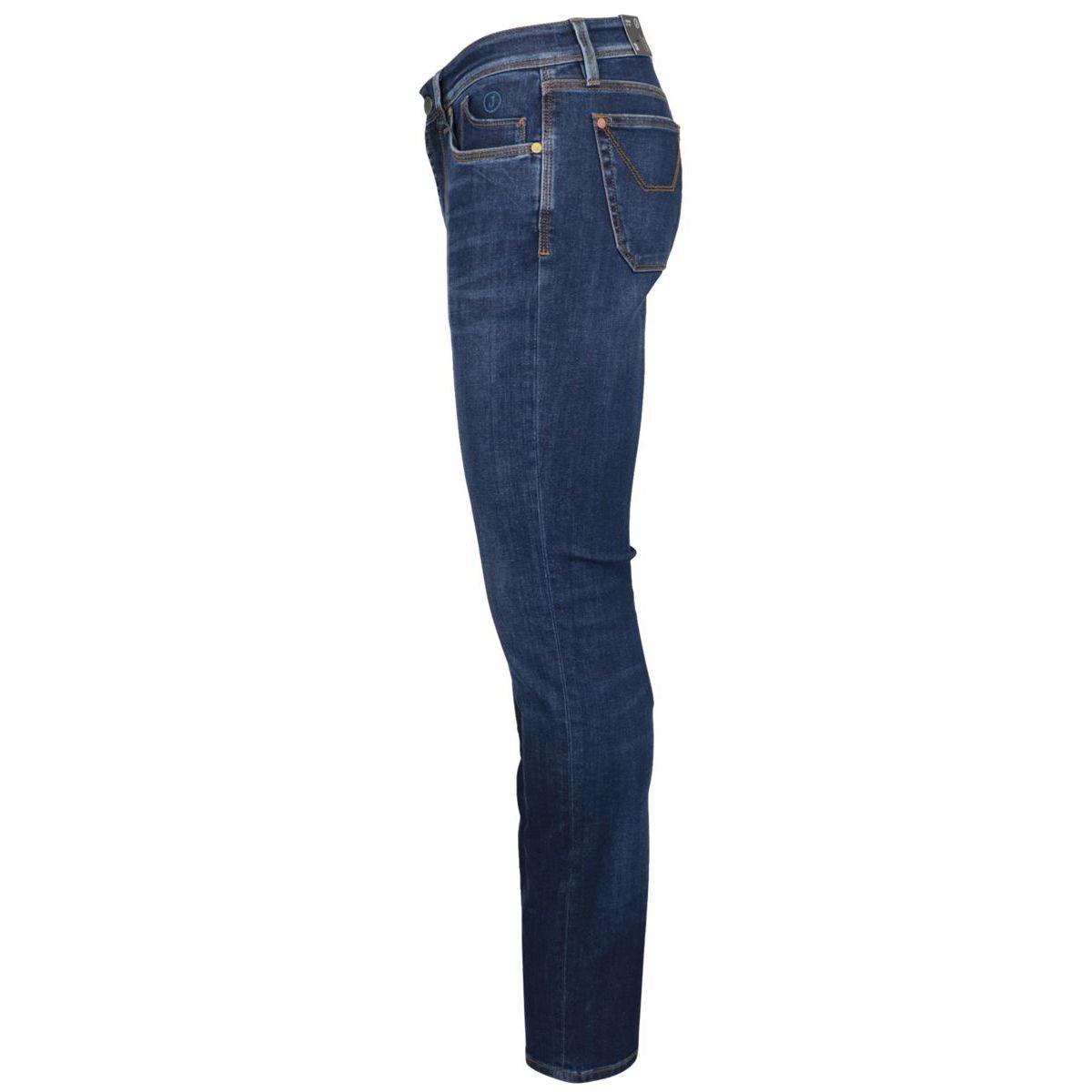 Slim 3Blend slim jeans in cotton Dark denim Jeckerson