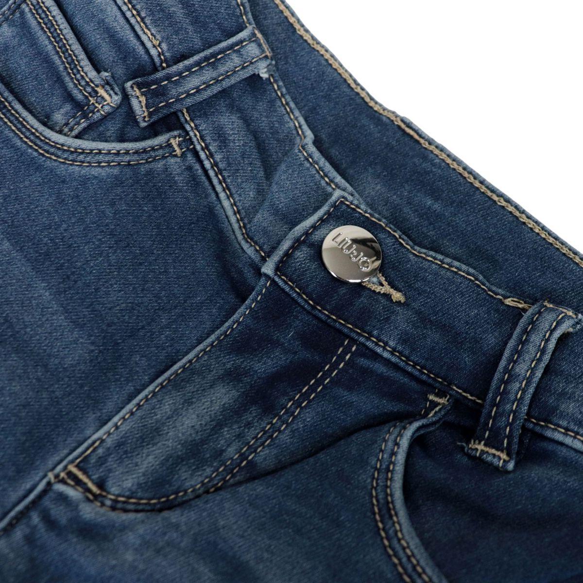 Skinny jeans with 5 pockets in Betty Divine stretch denim Light denim Liu Jo