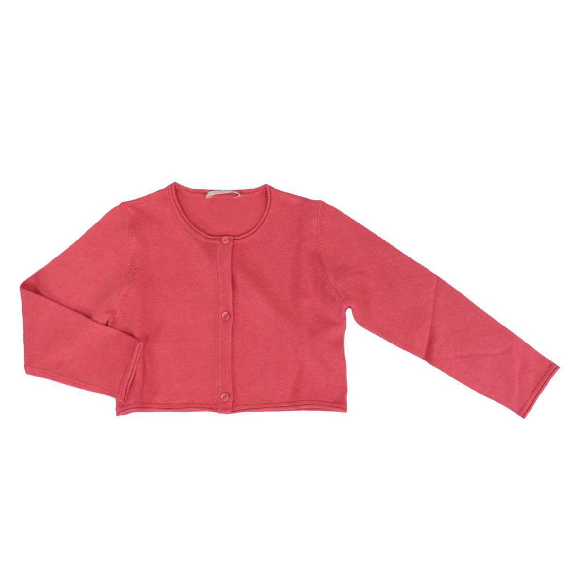 Long-sleeved cardigan in stretch viscose Coral Liu Jo