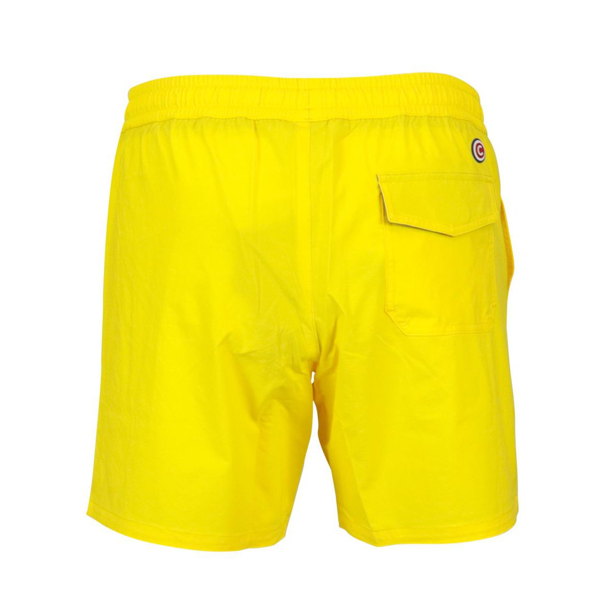 Costume shorts in stretch nylon with drawstring Yellow Colmar