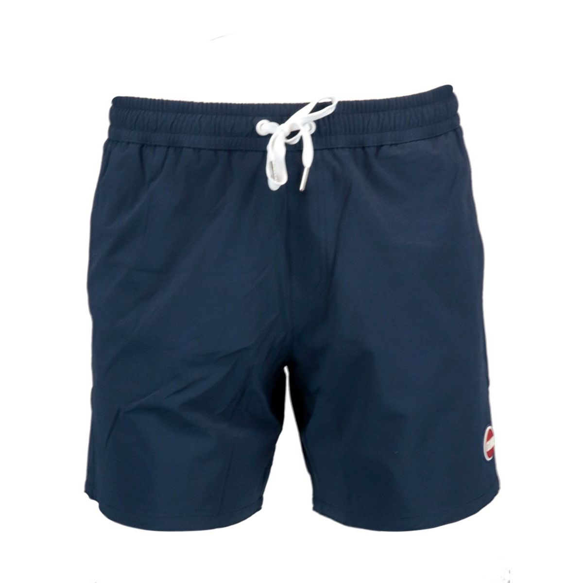 Costume shorts in stretch nylon with drawstring Navy Colmar