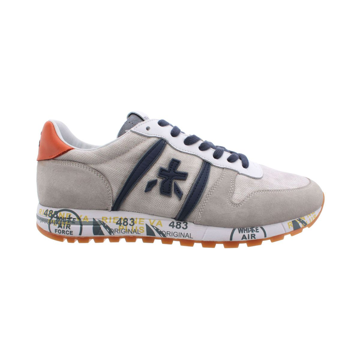 Eric sneakers in printed suede Ice Premiata