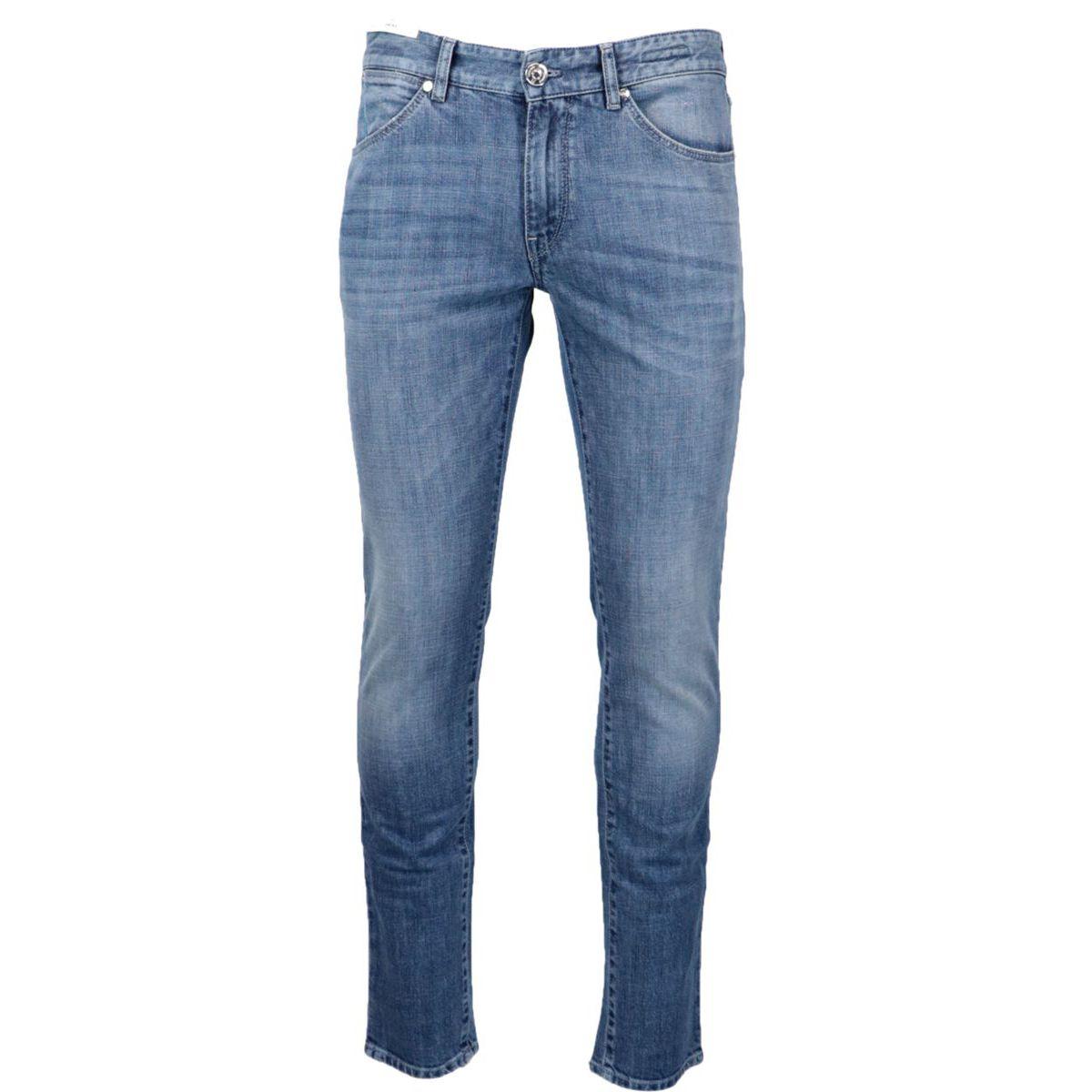 Swing slim jeans in used effect denim Denim PT TORINO