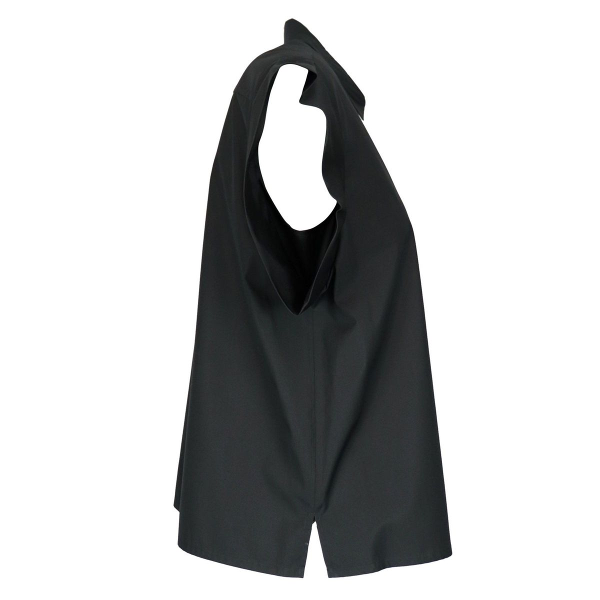Muscari shirt in cotton with cap sleeves Black MAX MARA STUDIO
