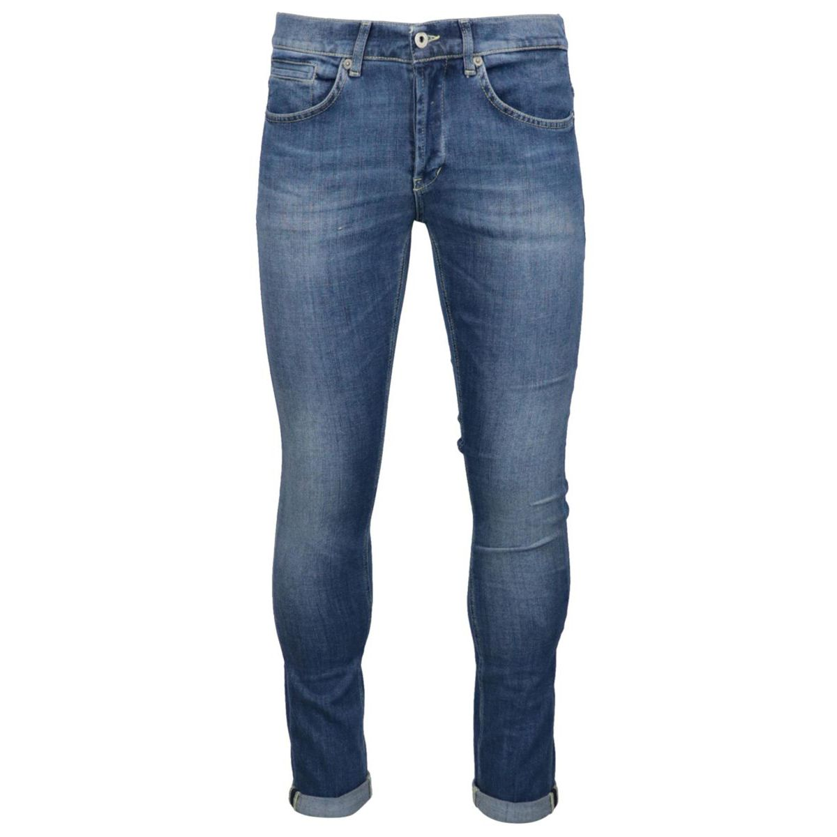George slim jeans with 5 medium denim pockets Denim Dondup
