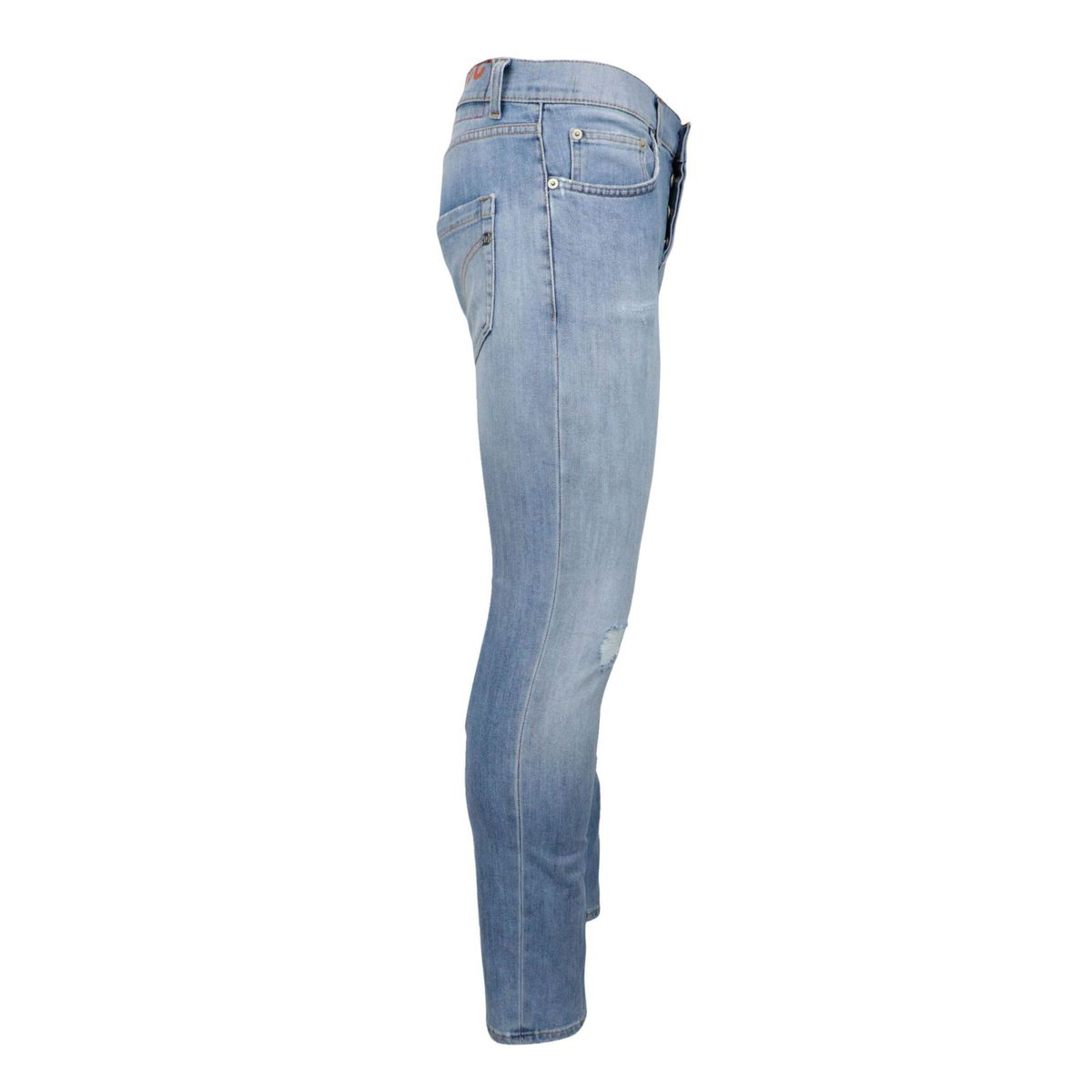 Slim jeans with 5 Mius pockets in light denim Light denim Dondup
