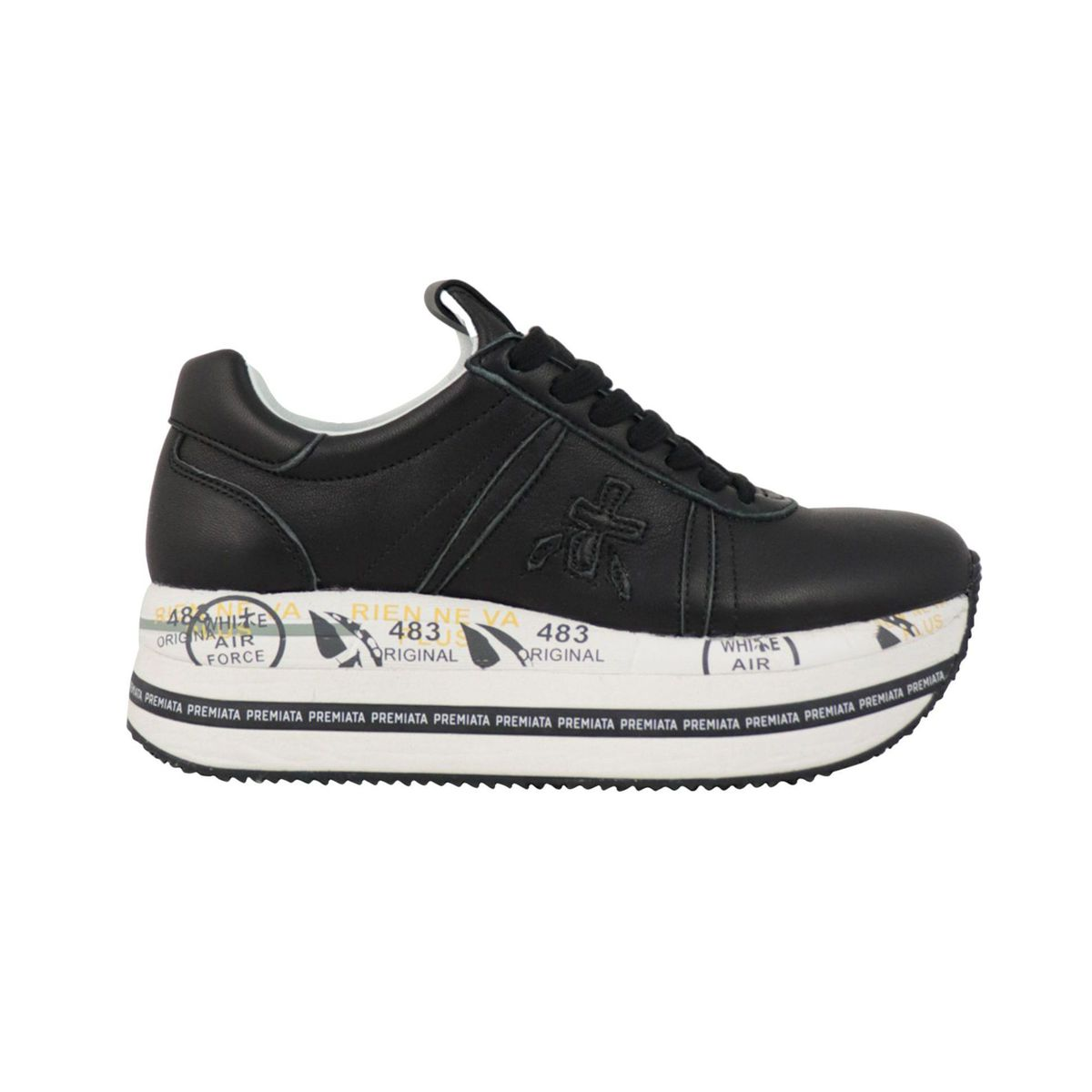Beth sneakers in printed leather Black Premiata