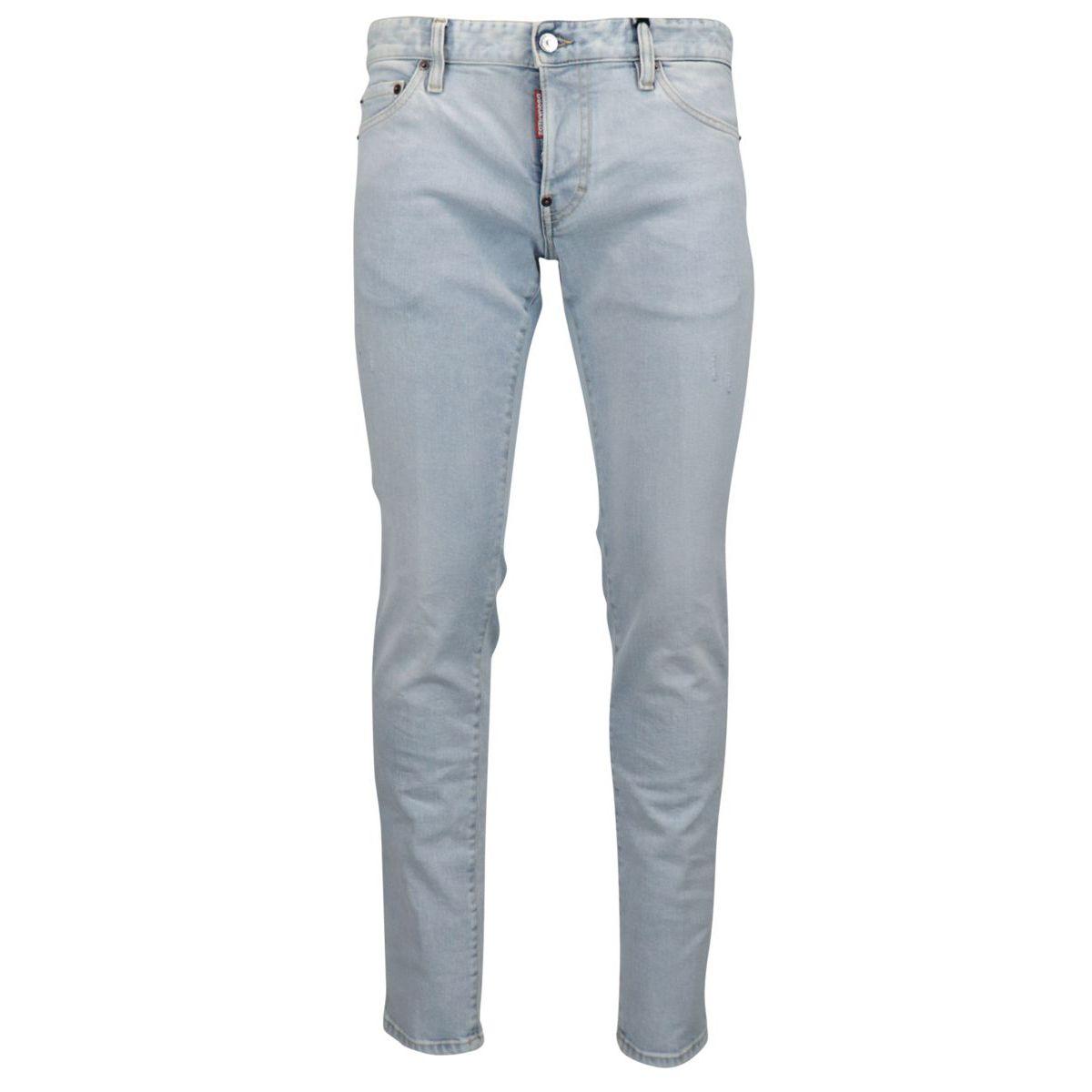 Light slim stretch jeans Light denim Dsquared2