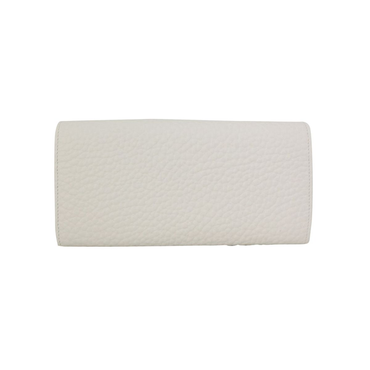 Soft leather wallet White Orciani
