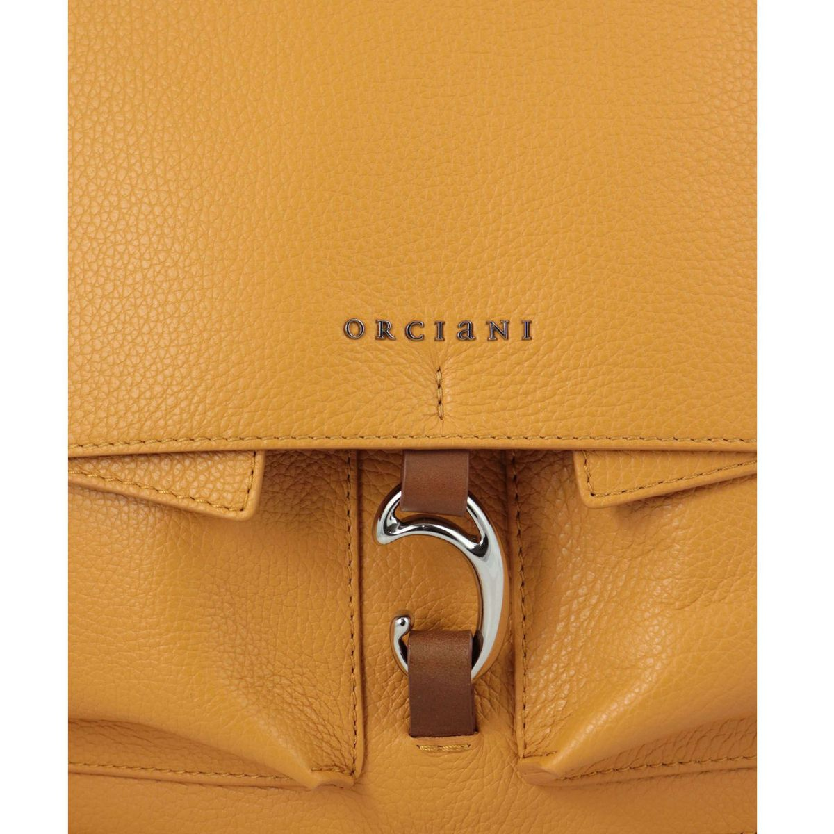 SCOUT shoulder bag in micron leather Mango Orciani