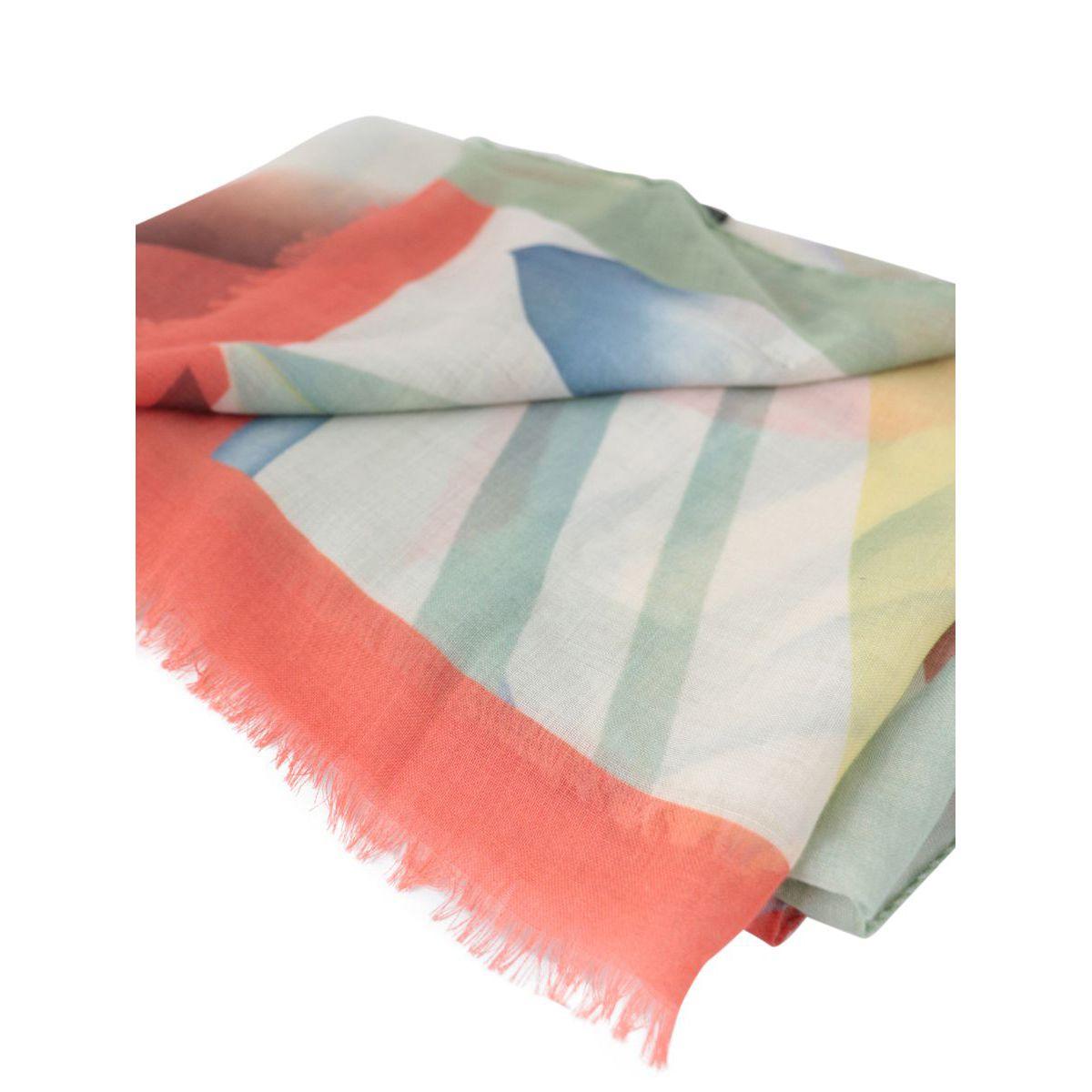 RAJI cashmere scarf Cream Etro