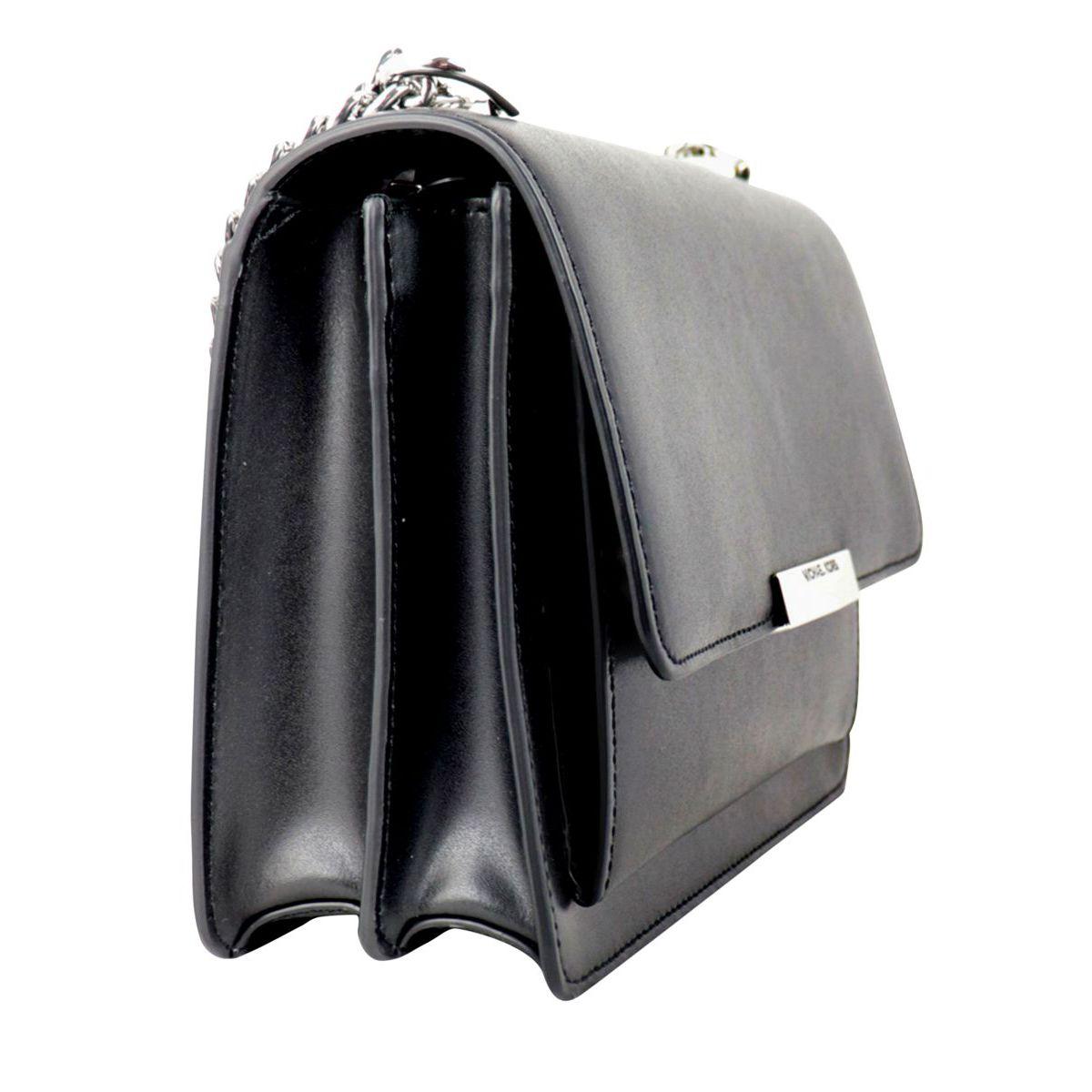 Jade leather shoulder bag Black Michael Kors