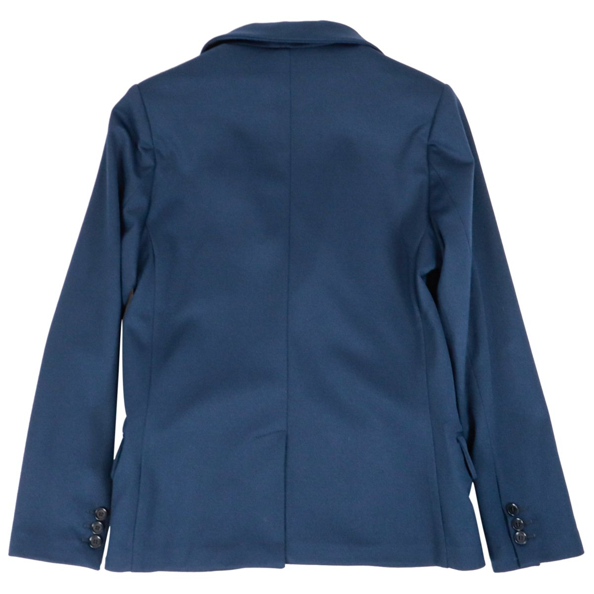 Two-button jacket in stretch viscose Navy Fay