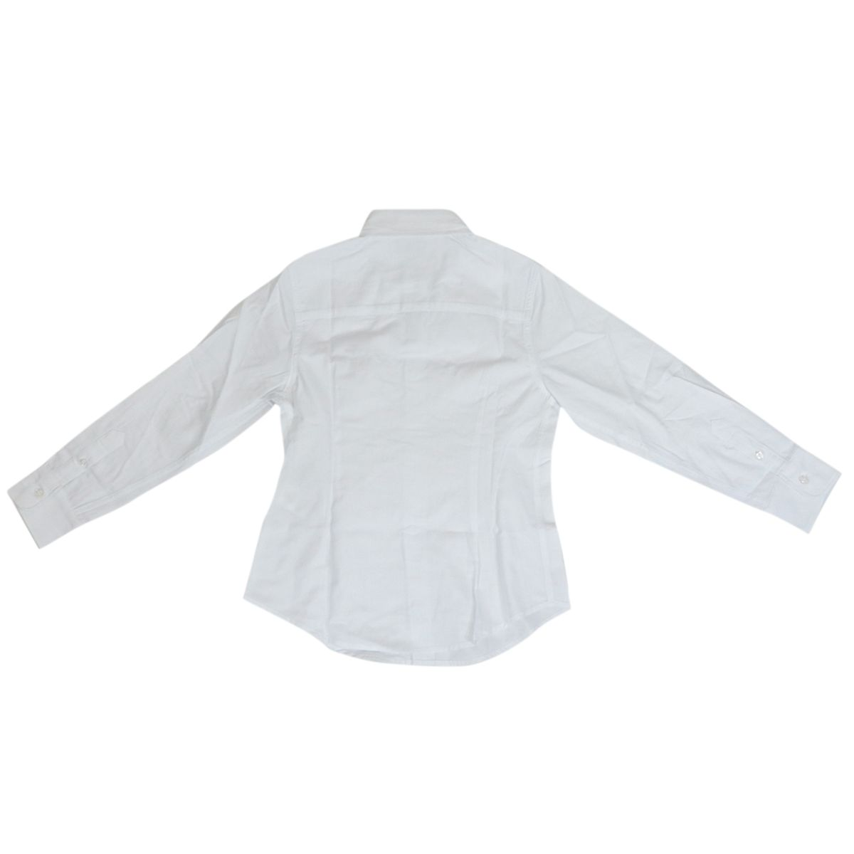 Button-down cotton shirt with embroidered logo White Fay