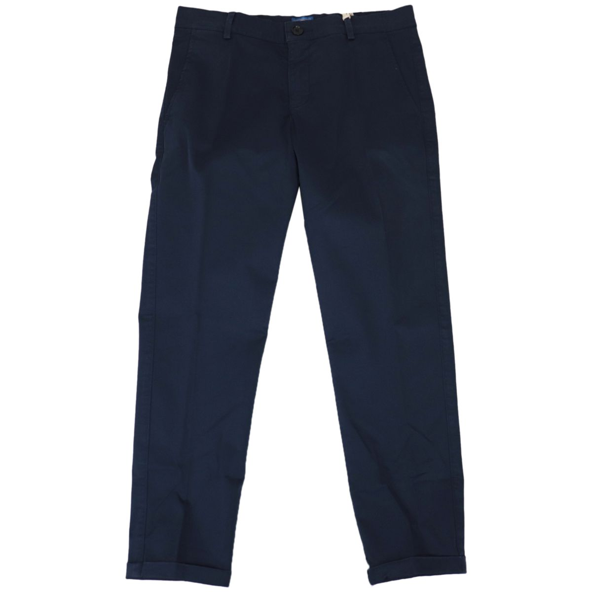 Classic cotton trousers with america pockets Navy Fay
