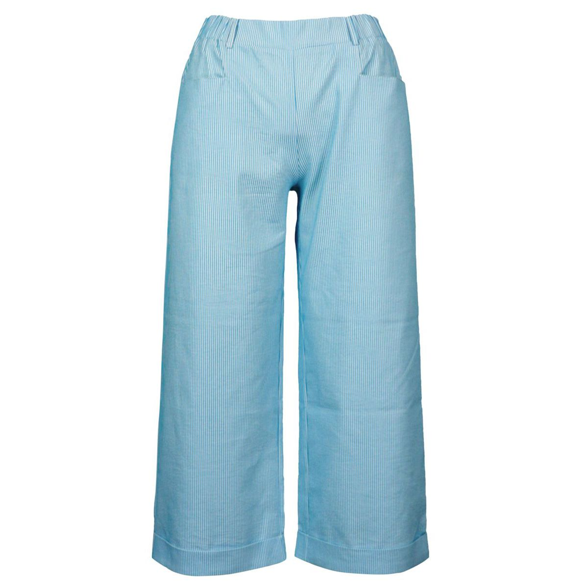 Cropped trousers in stretch cotton Heavenly Gran Sasso
