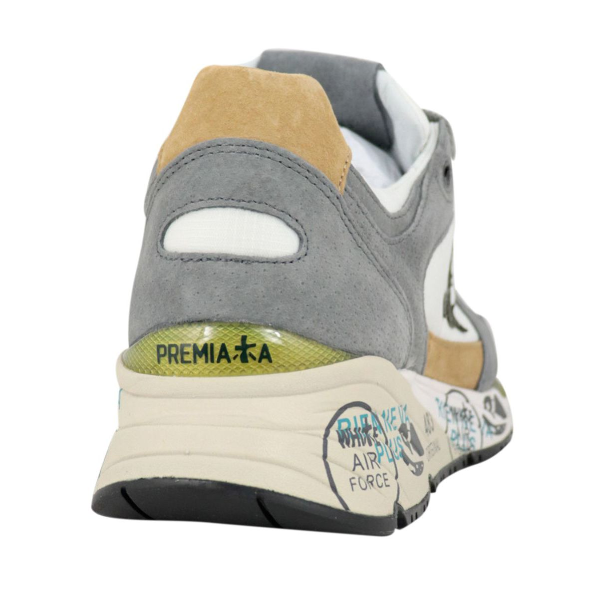 Mase sneakers in suede with prints Ice Premiata
