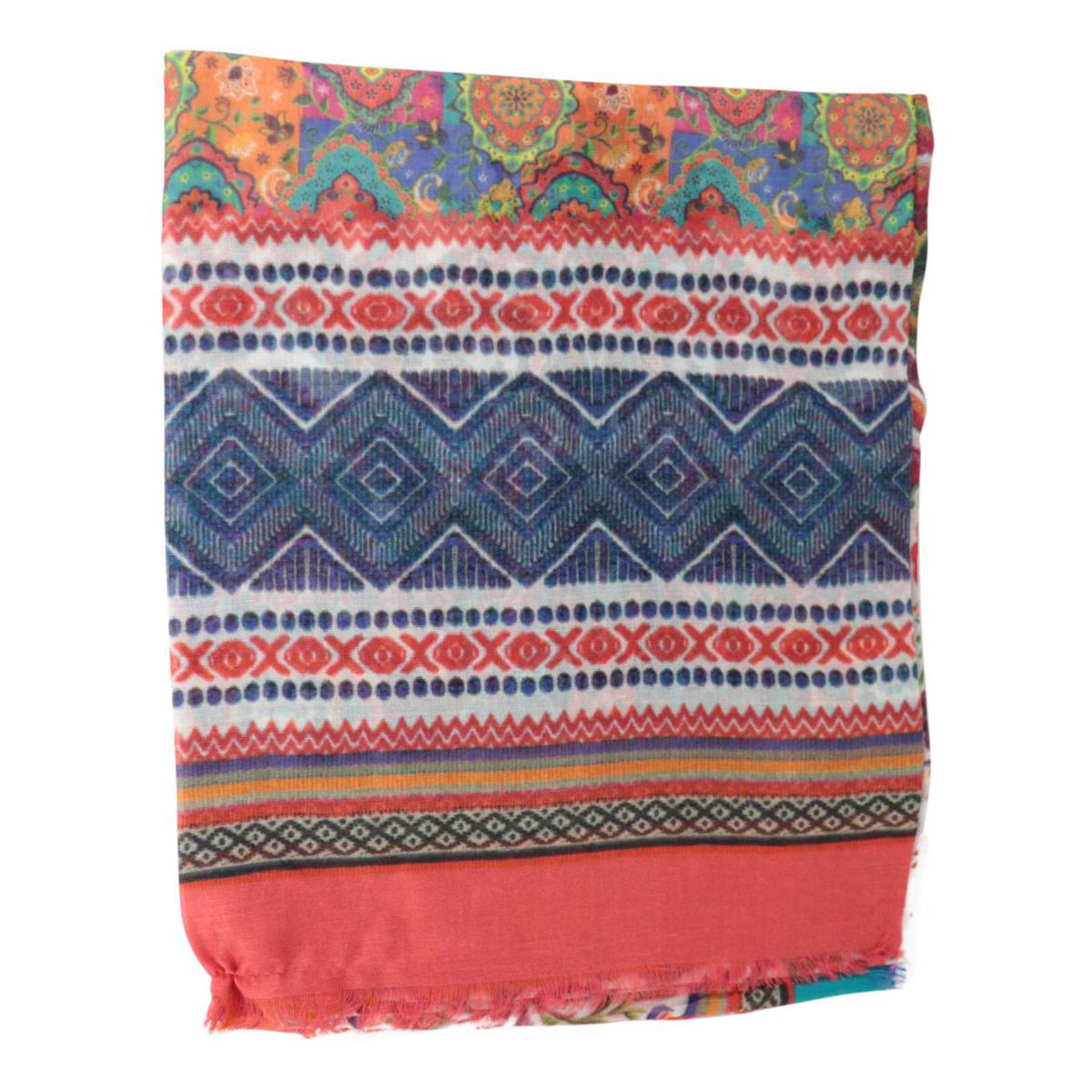 Patterned modal scarf Fantasy Altea