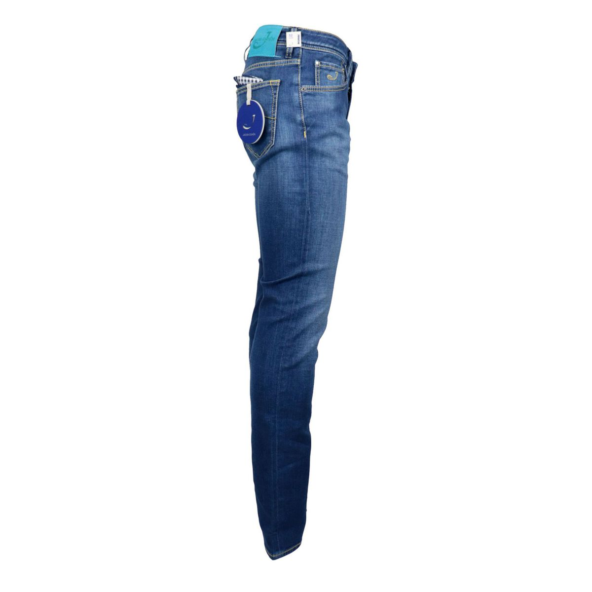 5-pocket slim jeans in stretch denim Denim Jacob Cohen