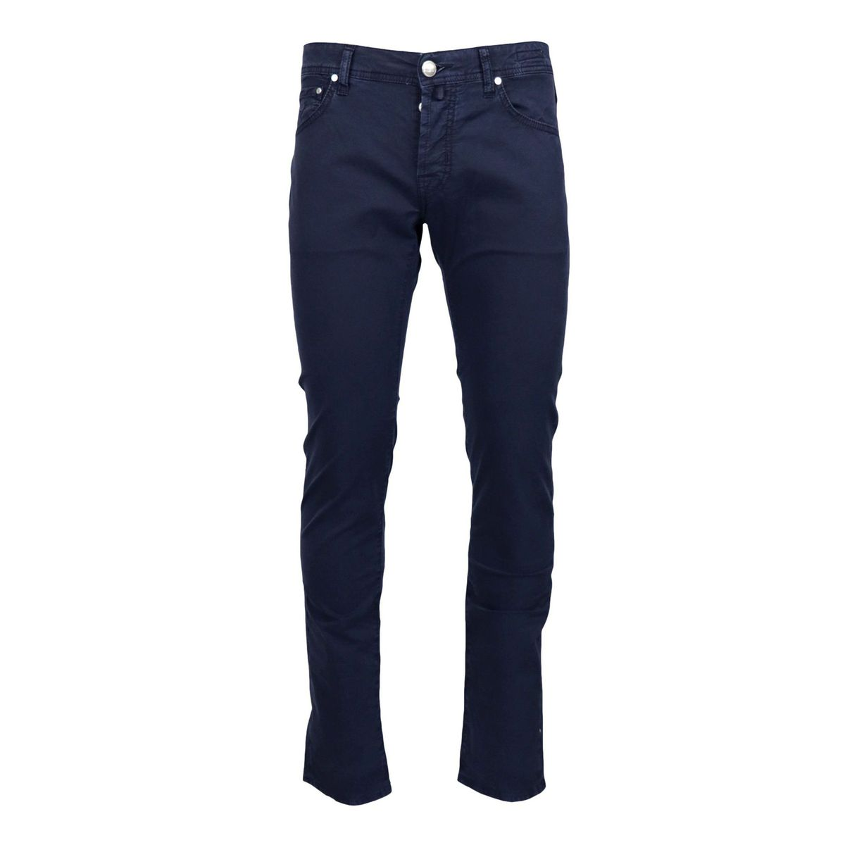 Slim trousers with 5 pockets in stretch cotton Ink Jacob Cohen