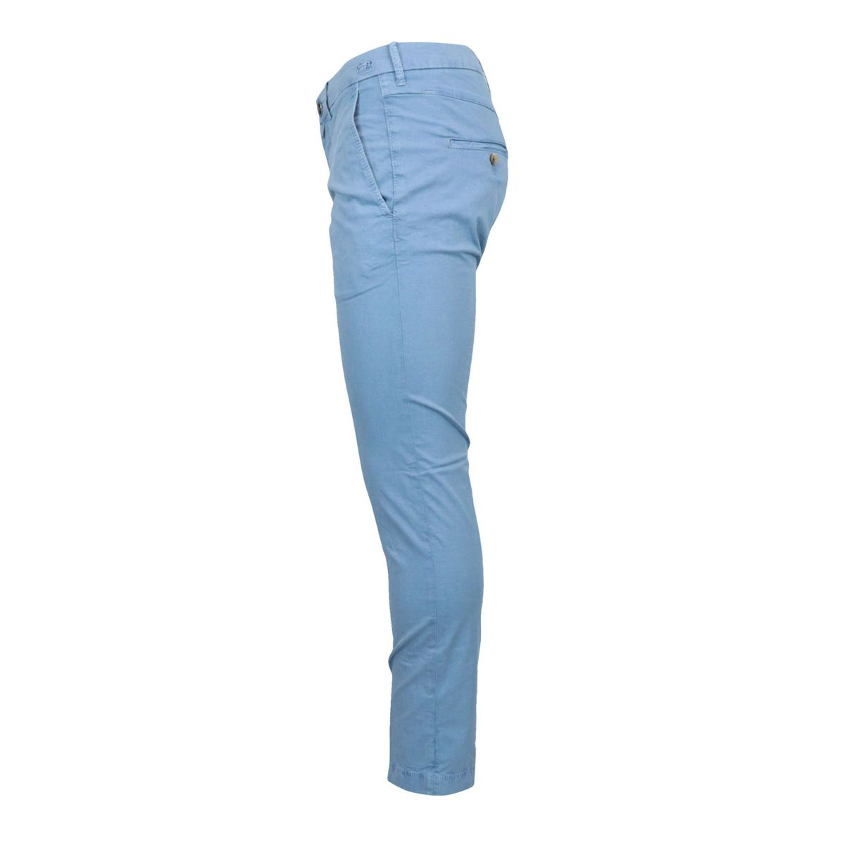 Slim trousers with america pocket in stretch cotton Blue Jacob Cohen