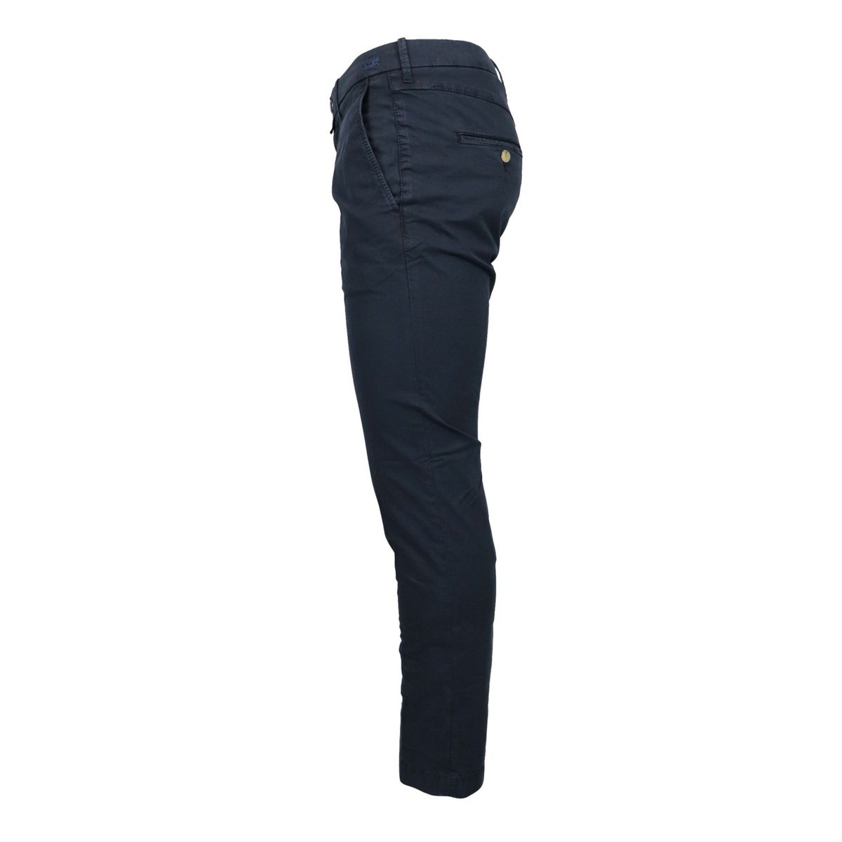 Slim trousers with america pocket in stretch cotton Navy Jacob Cohen