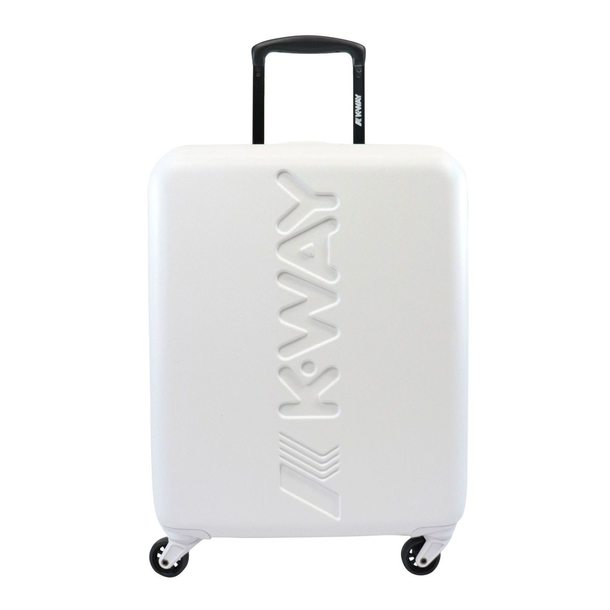 K-AIR rigid cabin trolley White K-Way