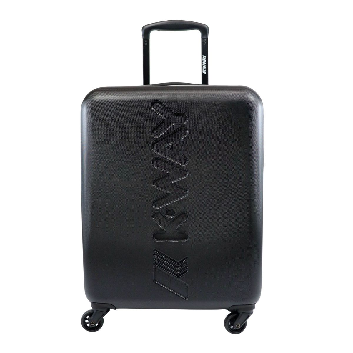 K-AIR rigid cabin trolley Black K-Way
