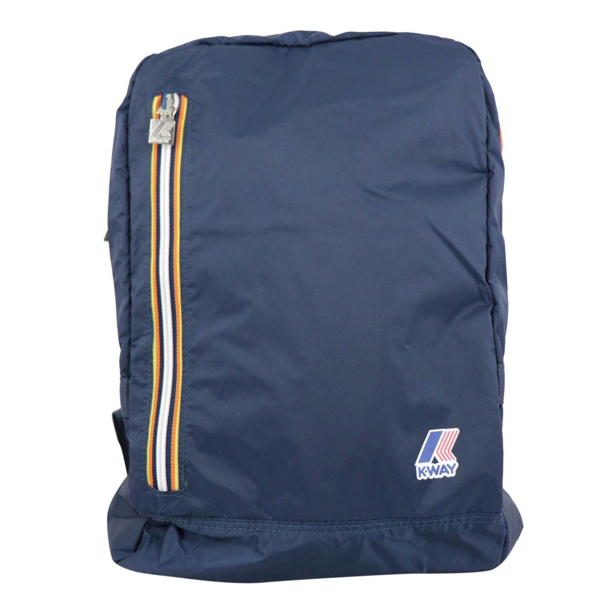 Nylon backpack resealable with clutch Navy K-Way