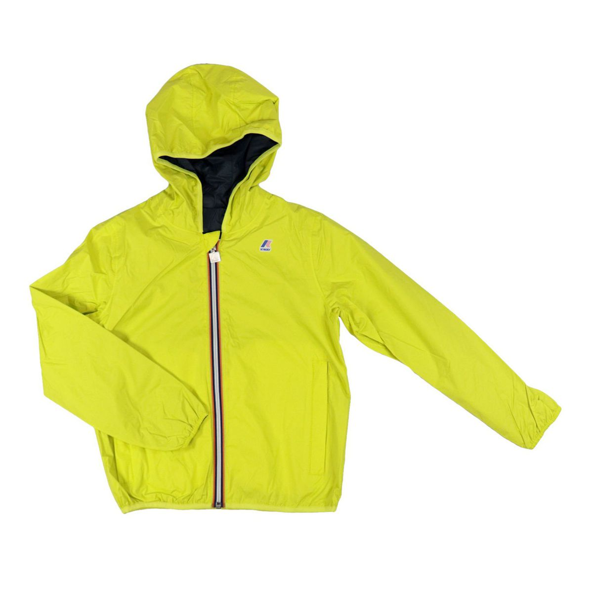 Jacques plus Reversible windbreaker Blue / files K-Way