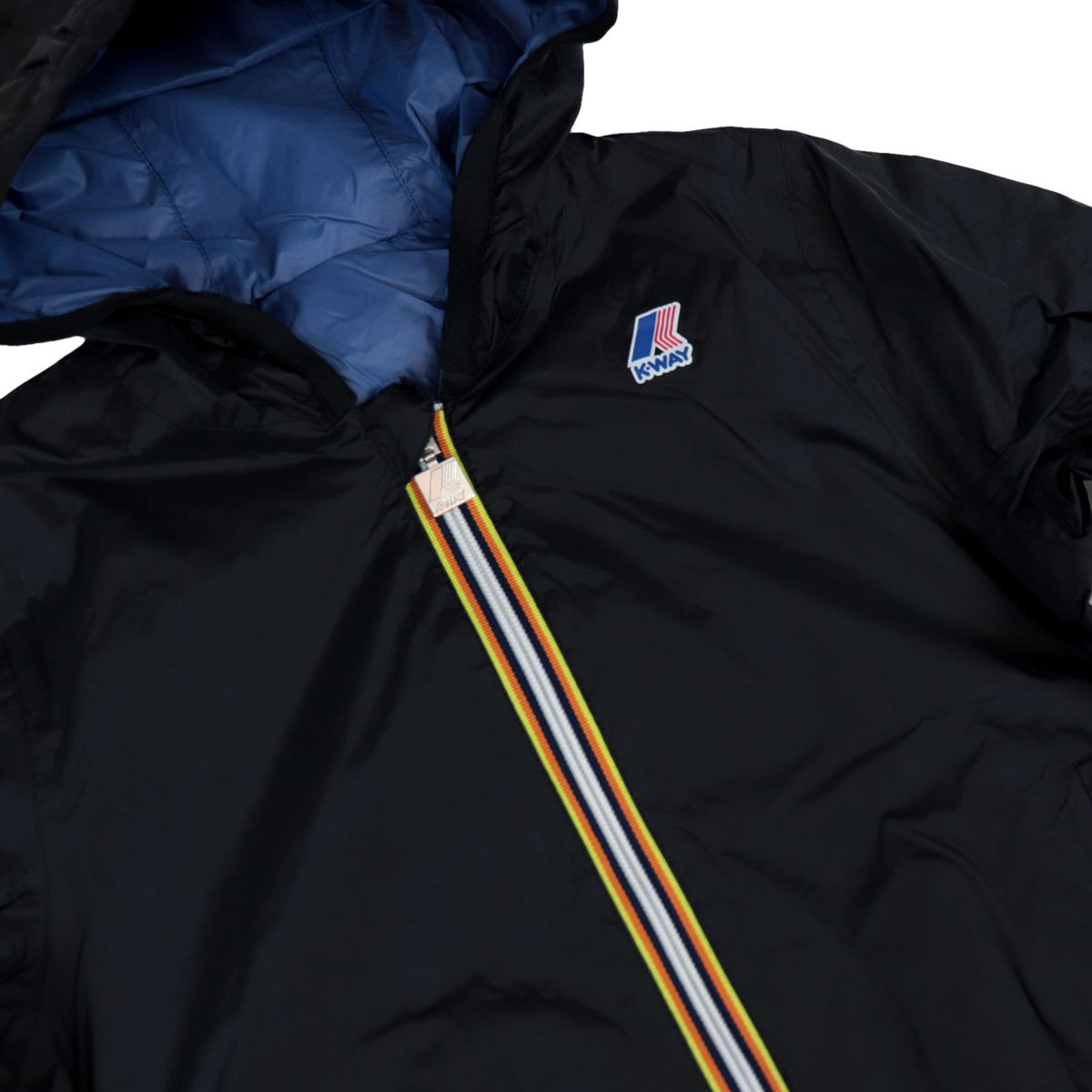 Jacques plus Reversible windbreaker Black / blue K-Way