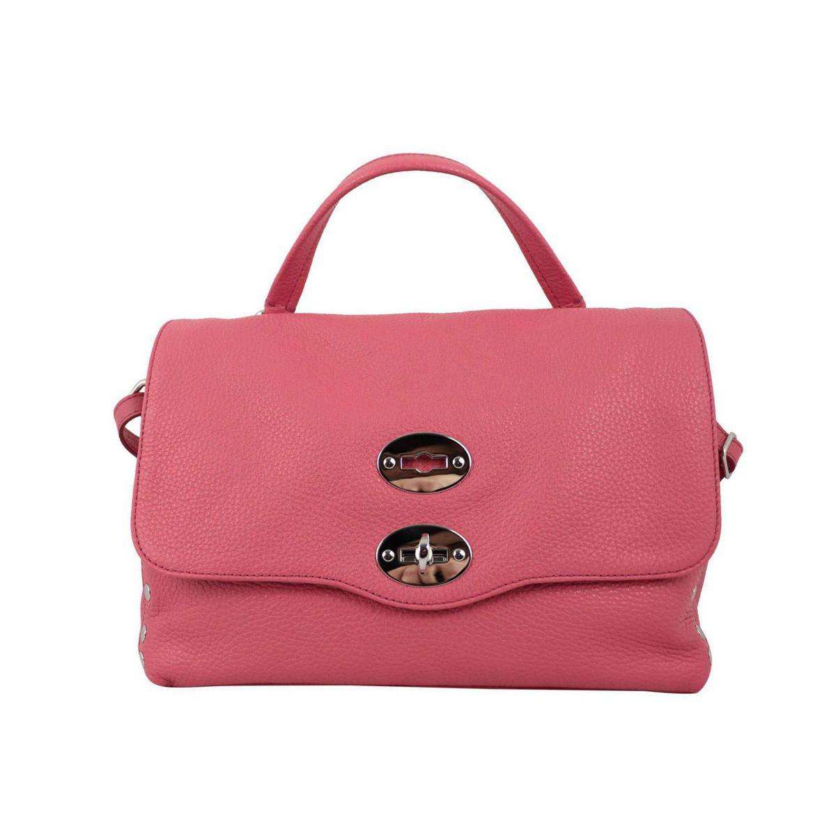 Postina S Daily bag in grained leather Rossana Zanellato