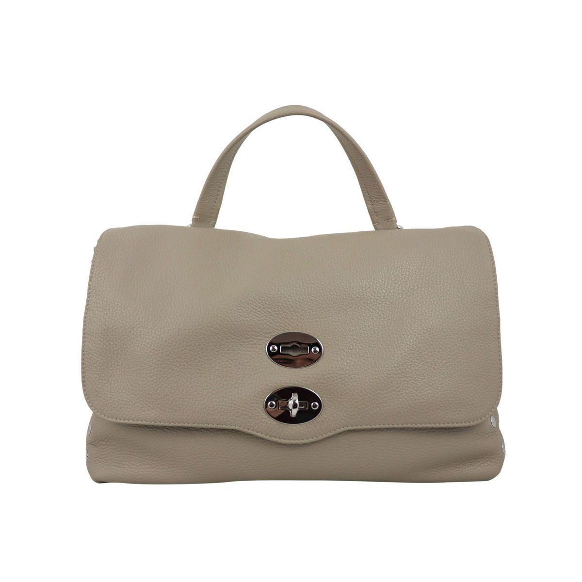 Postina M Daily bag in grained leather Crete Zanellato