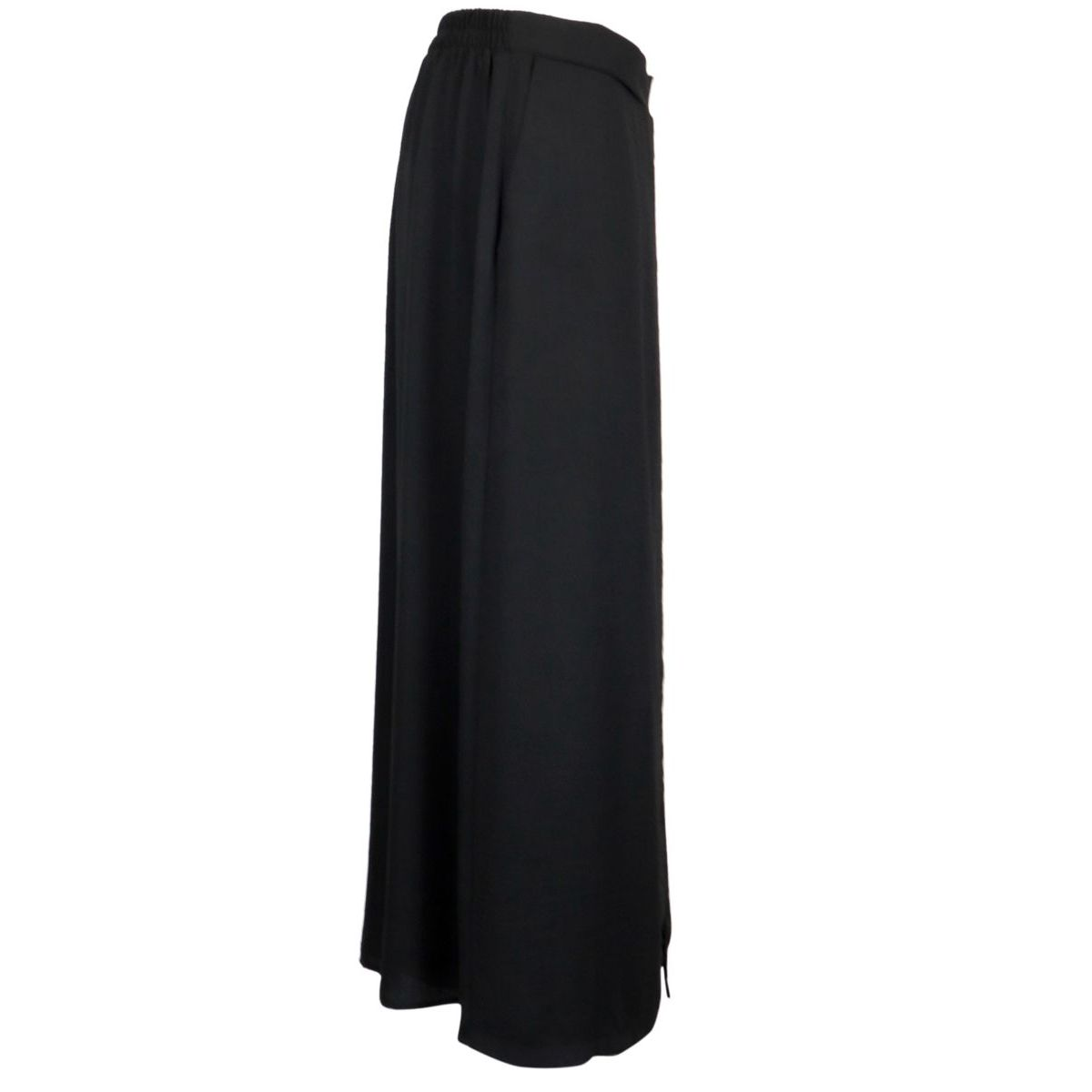 Crepe trousers skirt with elasticated waist Black Joseph Ribkoff
