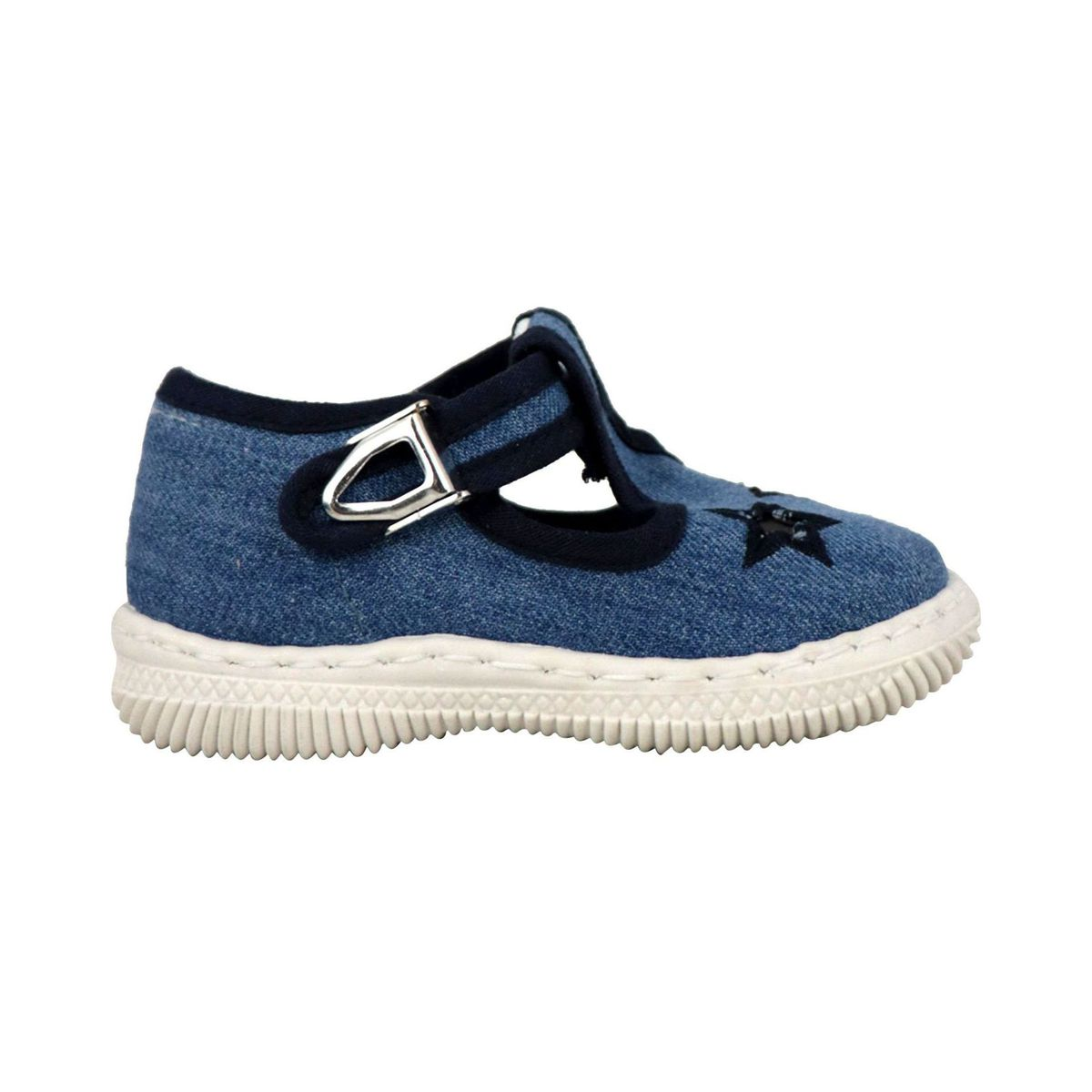 Denim shoe with eyes Blue jeans 2Star