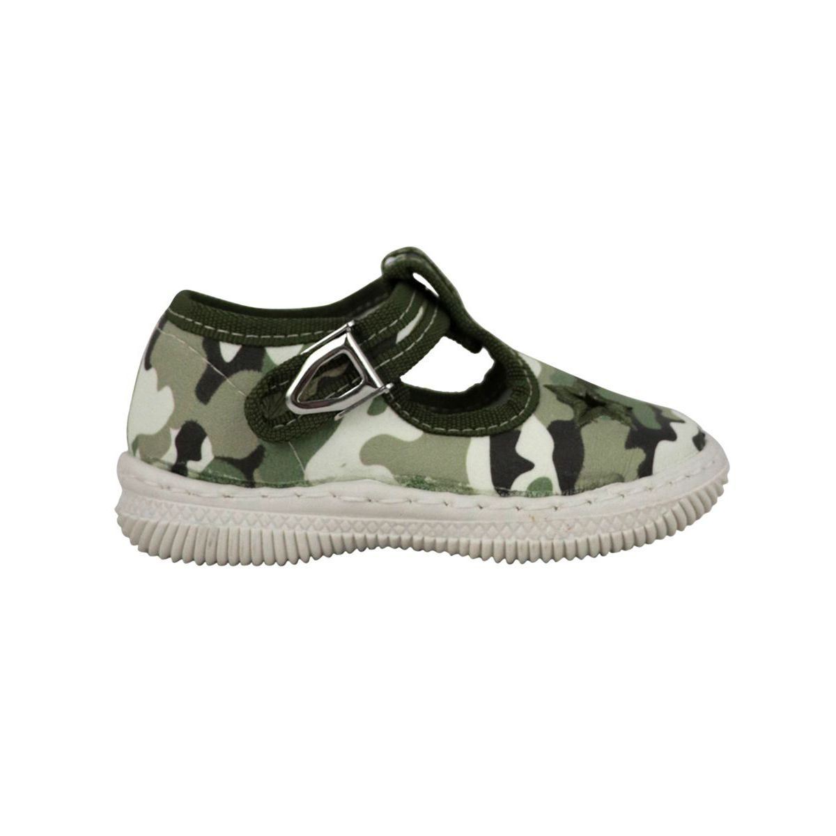 Camouflage print fabric shoe with eyes Camouflage 2Star